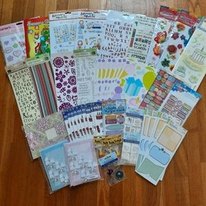 Lot of Scrapbooking Stickers